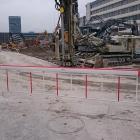 Baustellen Barriere