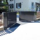 Automatisches Flügeltor, Aarau